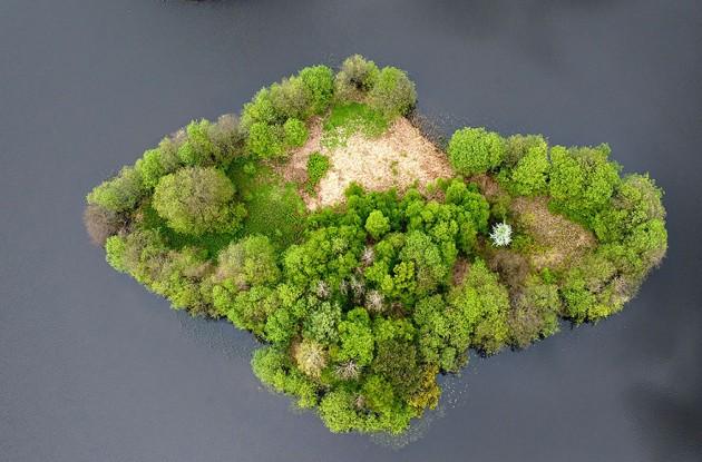 Lago Island, na Polônia