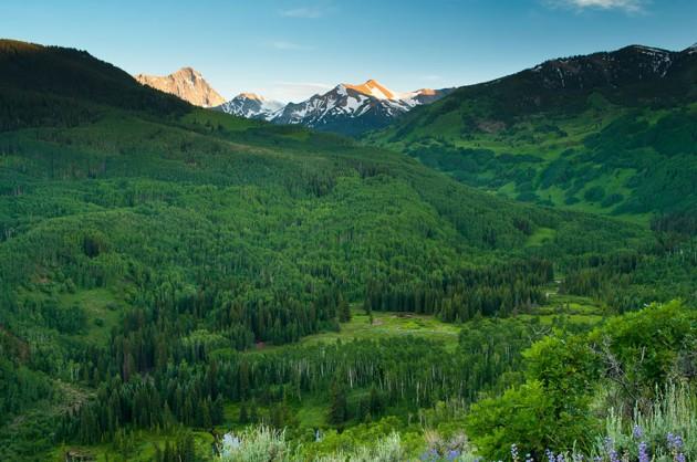 Capitol Creek Valley, Colorado, Estados Unidos