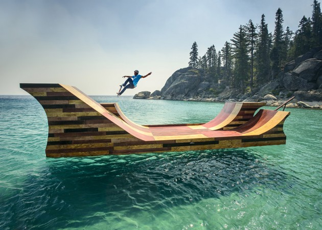 pista flutuante do bob burnquist