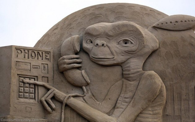 Escultura Areia ET