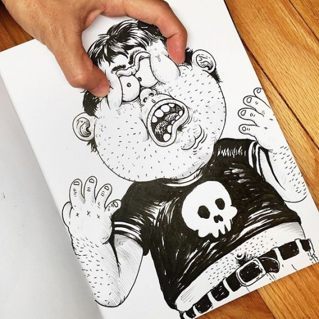Funny-Drawing-Character-Fighting-His-Maker3__700