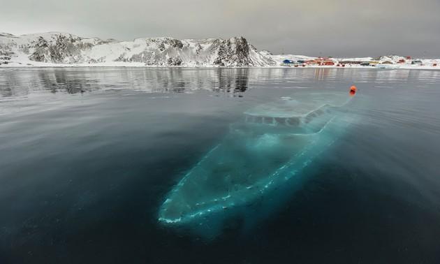 #12 - Iate Afundado, Antártica