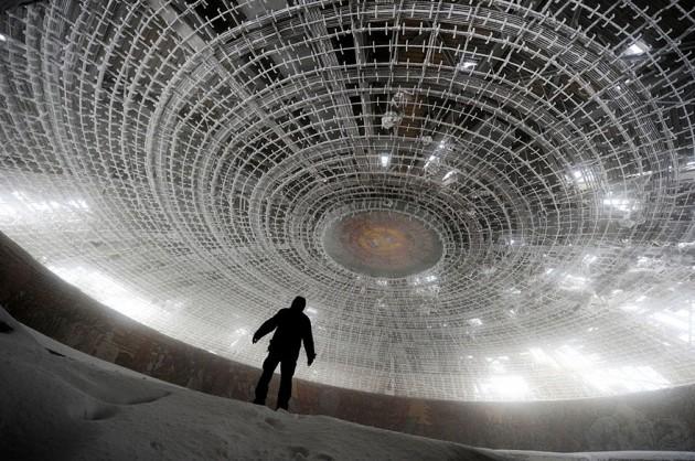 #7 - Casa em formato de disco voador,  do Partido Comunista Búlgara, Bulgária