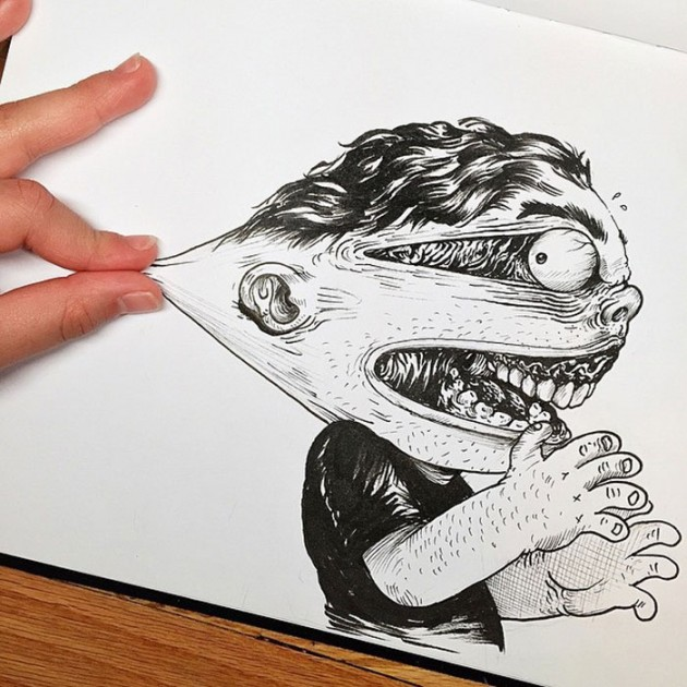 funny-drawing-character-fighting-maker10