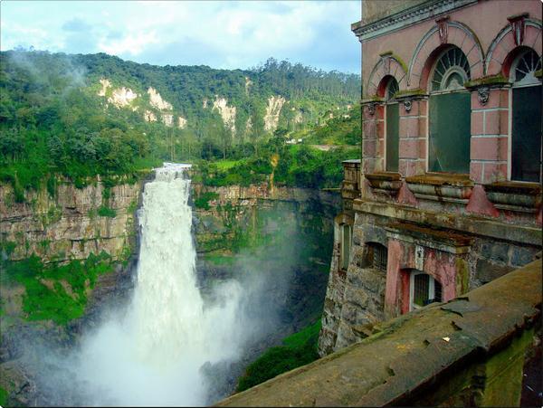 #17 - Hotel abandonado em Salto, Colômbia