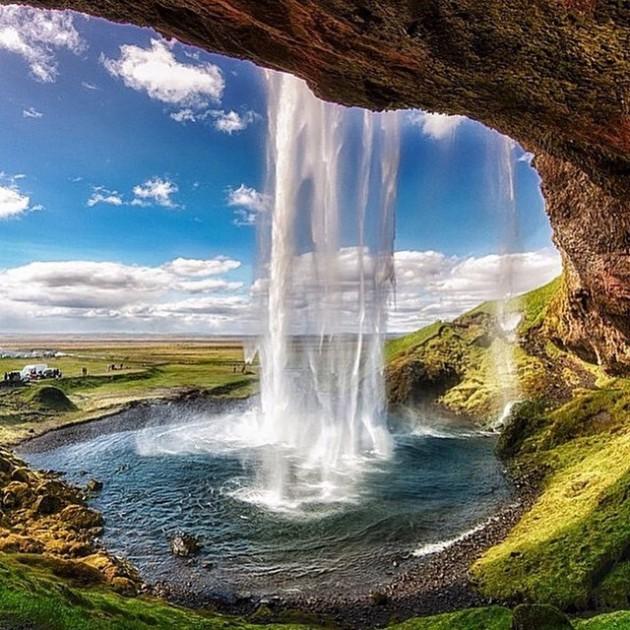 #18 - Magic Seljalandfoss, Islândia.