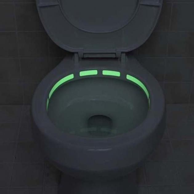 #22 - Sistema de luz no vaso sanitário.