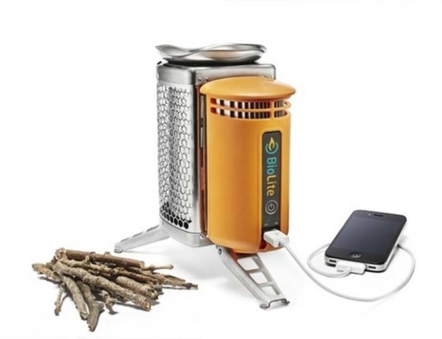 #20 - Carregador de Iphone com aquecedor de lenha.