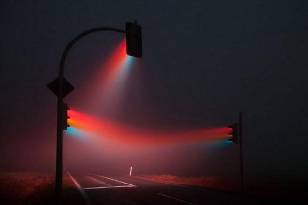 #5 - Neblina + Reflexo dos faróis