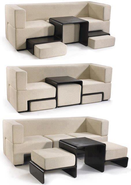 #15 - Sofá encaixável para pequenos ambientes