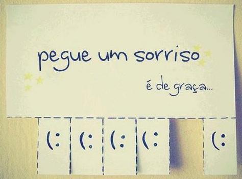 #8 - Pegue um sorriso :)