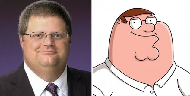 Petter Griffin do Family Guy