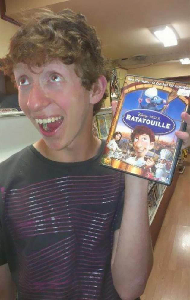 Linguini do Ratatouille