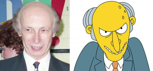 Mr. Burns dos Simpsons