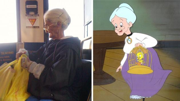 Vovó do Looney Tunes