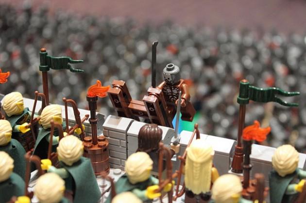 abismo de helm - senhor dos aneis em lego 11