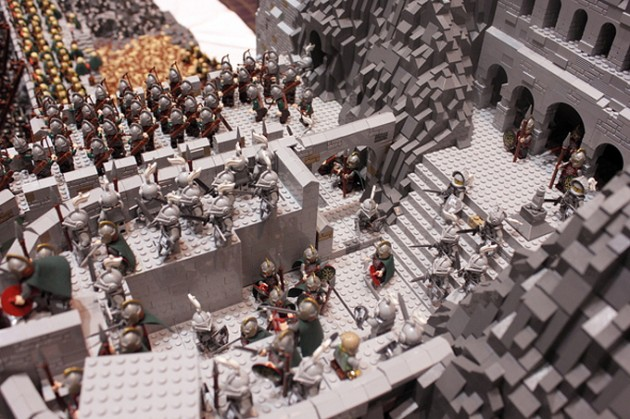 abismo de helm - senhor dos aneis em lego 13