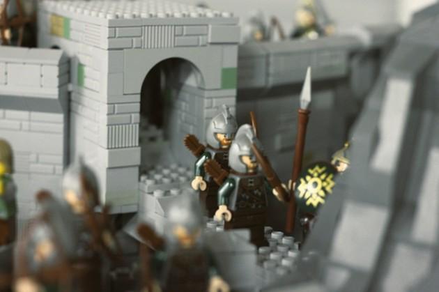 abismo de helm - senhor dos aneis em lego 4