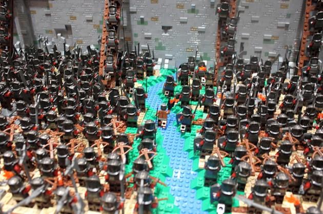 abismo de helm - senhor dos aneis em lego 5