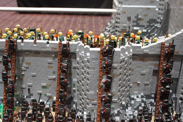 abismo de helm - senhor dos aneis em lego 6