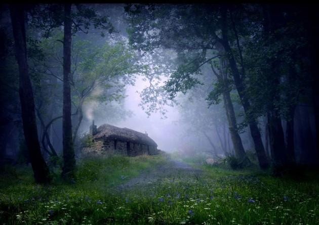 Cabana Na Floresta, Escócia