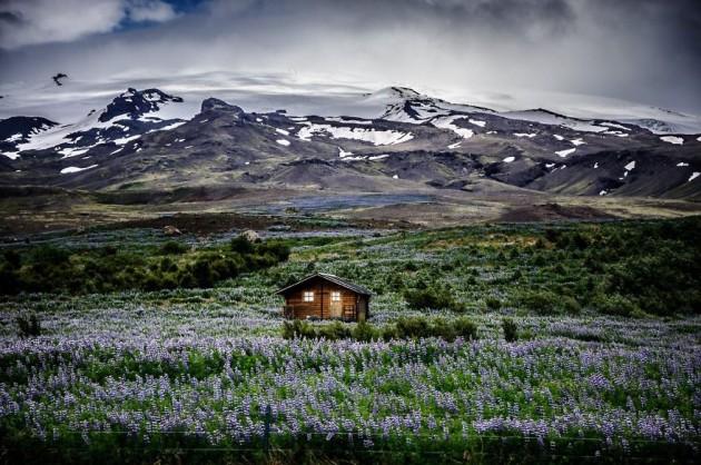Retiro Na Montanha Islandesa