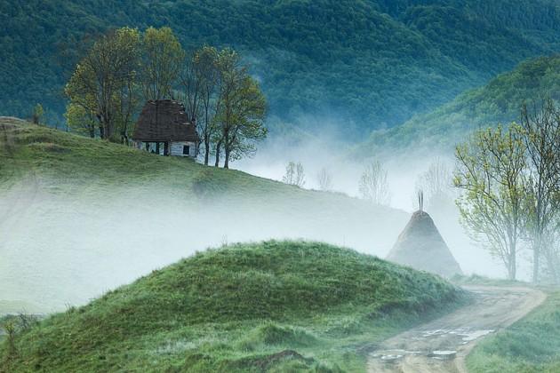 Nas montanhas de Apuseni, Romênia