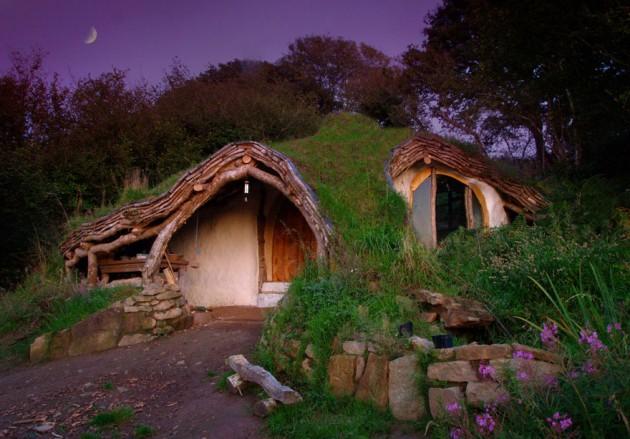 A Casa De Um Hobit, País de Gales