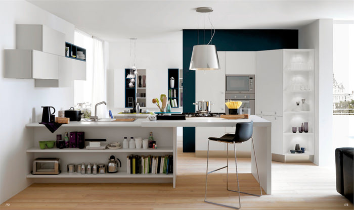 Open Kitchen Shelving And The Flexibility That Comes With It: Cozinhas-criativas-05 - Criatives