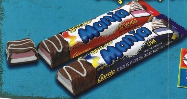 Chocolate Mania da Garoto.