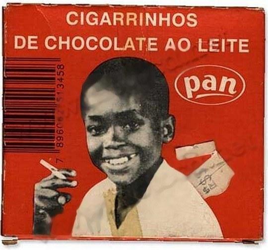 Cigarrinhos de Chocolate ao Leite  da Pan
