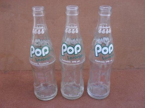 Refrigerante Pop de corante, quer dizer, de Laranja.