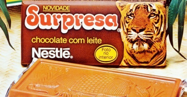 Chocolate Surpresa da Nestlé