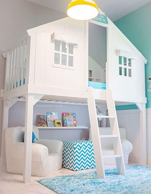 Quarto e casa de bonecas