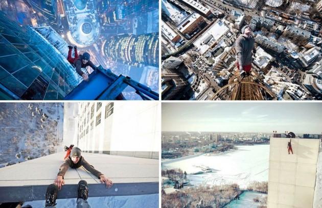 #10 -  Teria coragem de fazer isso por uma selfie?