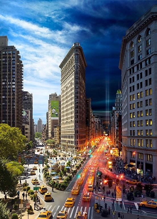 #19 - O Dia e a noite de Nova York na mesma foto.