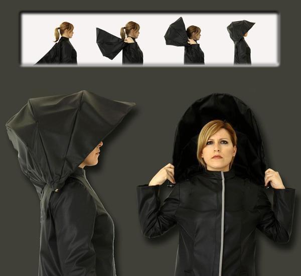 #7 - Vai chover? Já viu esse conceito de guarda-chuva super criativo?