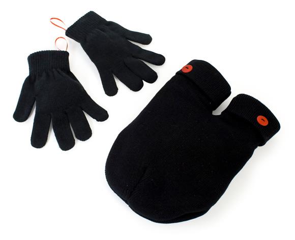 Luvas Smitten para casais andarem de mãos dadas no inverno.