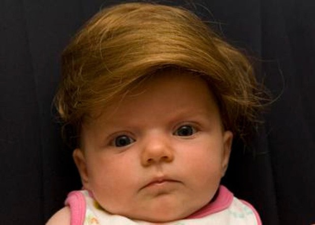 #7 - Peruca para bebê.