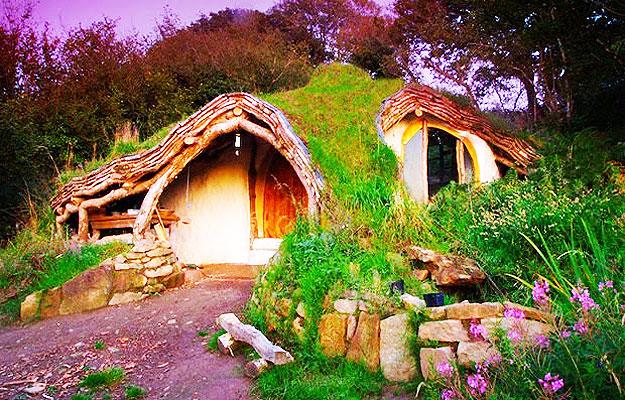 Casa Hobbit, País de Gales
