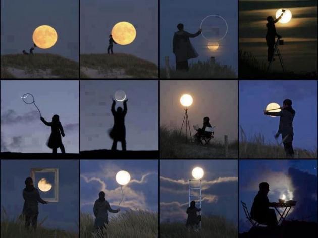 #17 - Brincando com a lua