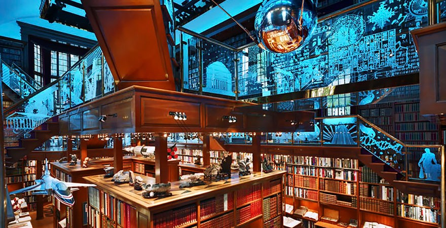 Walker Library, Minneapolis, Minnesota, Usa