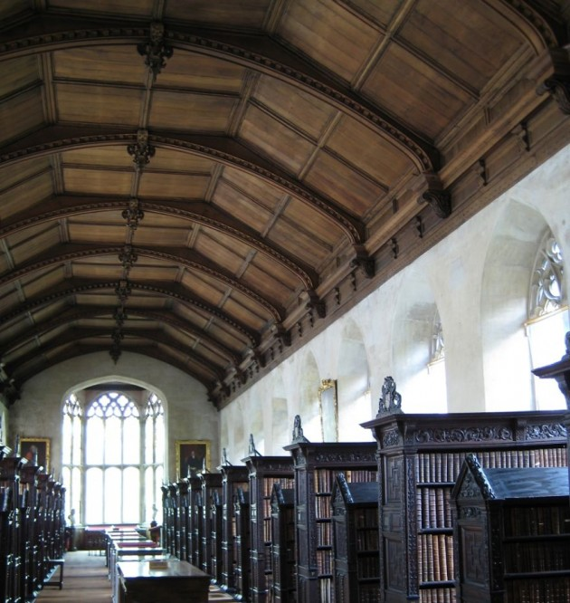 St John's College Library, Cambridge, Reino Unido