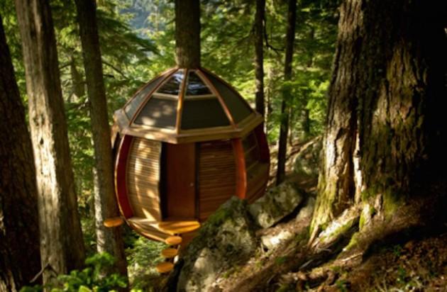 Casa na árvore HemLoft, Colúmbia Britânica