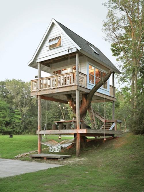 Casa da árvore em Wisconsin, Estados Unidos