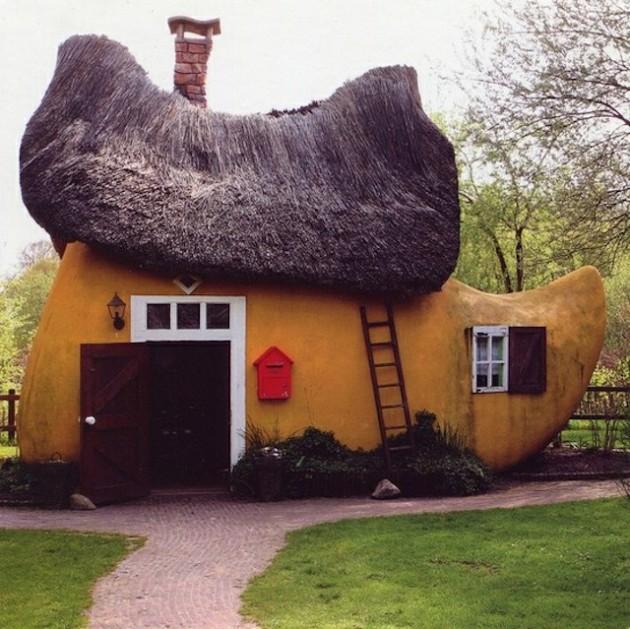 Casa em formato de sapato, Holanda