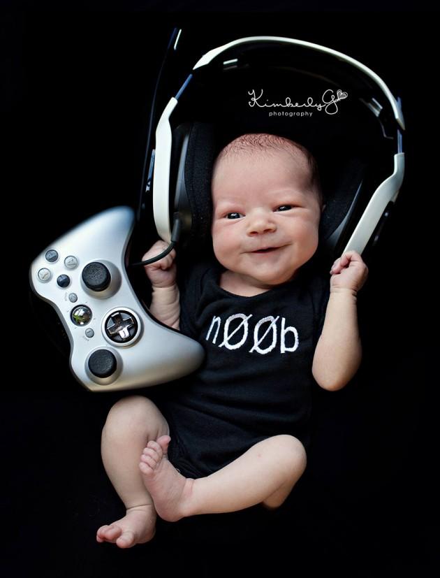 Bebê Gamer