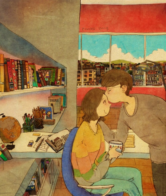 sweet-couple-love-illustrations-art-puuung-17__700