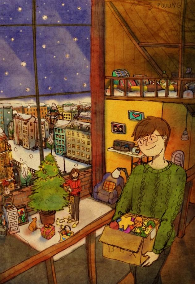sweet-couple-love-illustrations-art-puuung-18__700