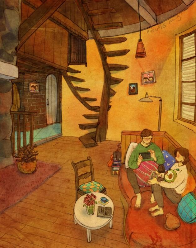 sweet-couple-love-illustrations-art-puuung-8__700